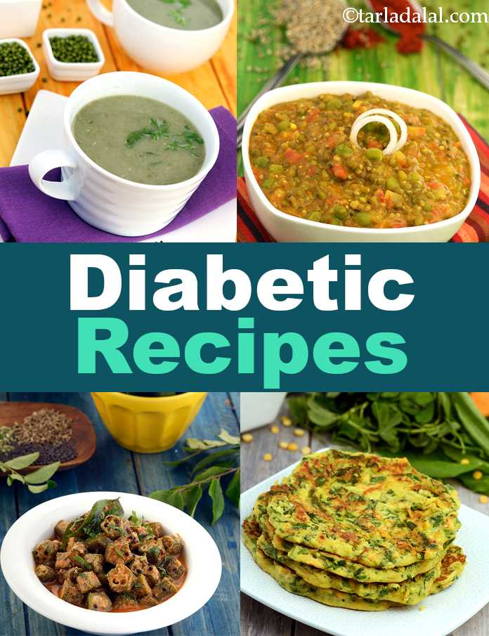 Diabetic Recipes, 300 Indian Diabetic Recipes, Tarladalal com