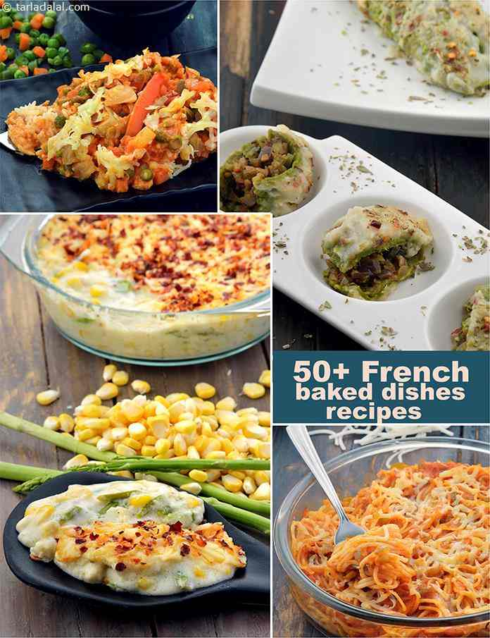 French baked recipes french baked dish recipes tarladalal the french people loved baked dishes and they love to make them cheesy and saucy they enjoy all the dishes with cheese like cheese souffle quiches forumfinder Images