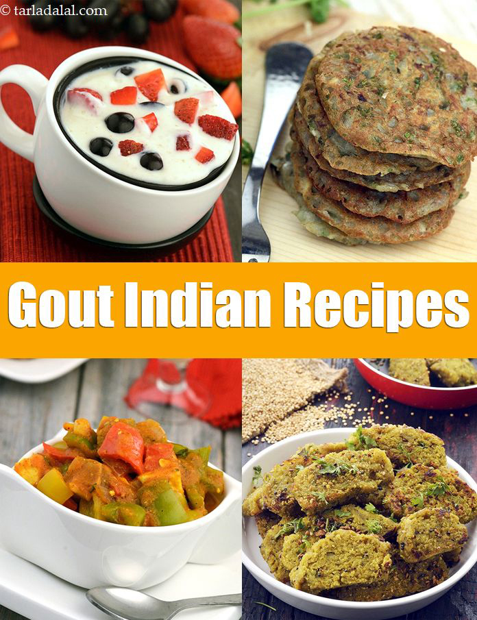 Gout diet indian veg recipes gout is a type of arthritis in which the high uric acid levels in the body deposits in the joints mainly toes ankles hands and wrists forumfinder Image collections