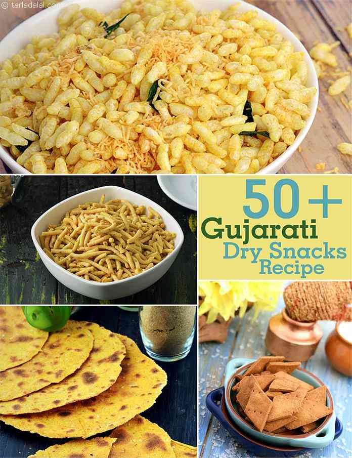 Gujarati dry snack recipes gujurati tarladalal tea time is never complete without dry snacks these jar snacks also come to your rescue when hunger strikes suddenly and can be carried along to work or forumfinder Choice Image