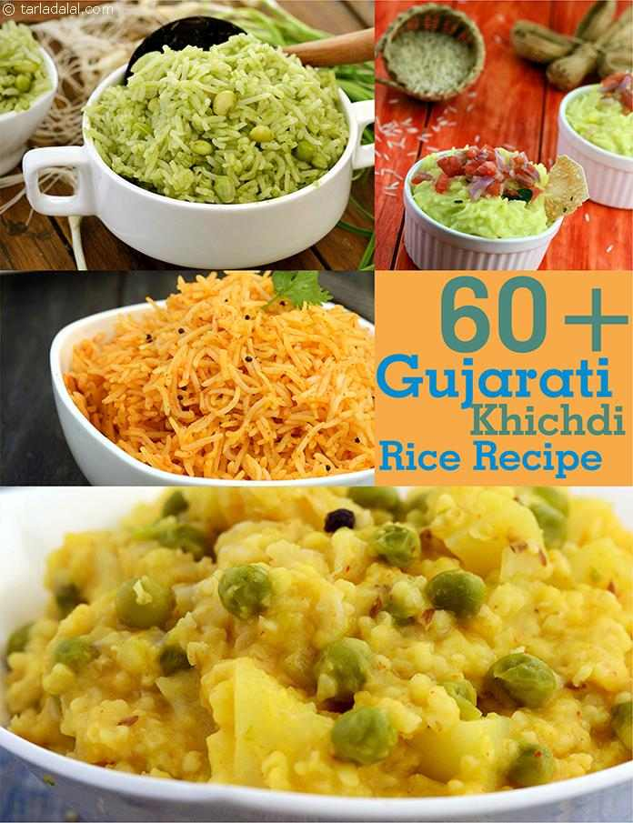 65 khichdi recipe gujarati khichdi recipe on tarladalal in most households a complete meal is served in the afternoon while light rice dishes like khichdi are preferred for dinner forumfinder Choice Image