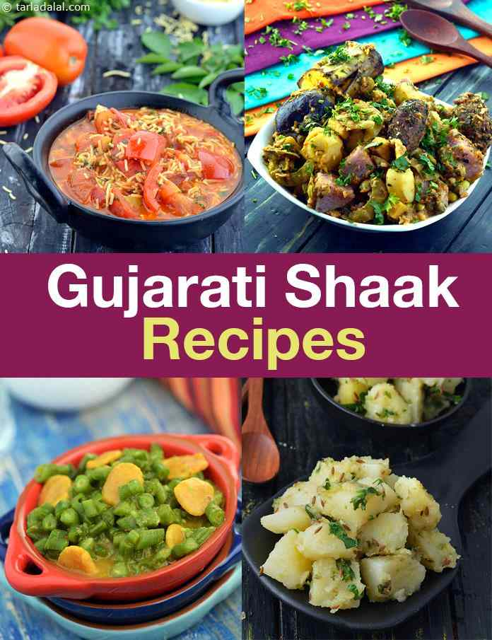 78 Shaak Recipes, Gujarati Sabji, Vegetable Recipes on