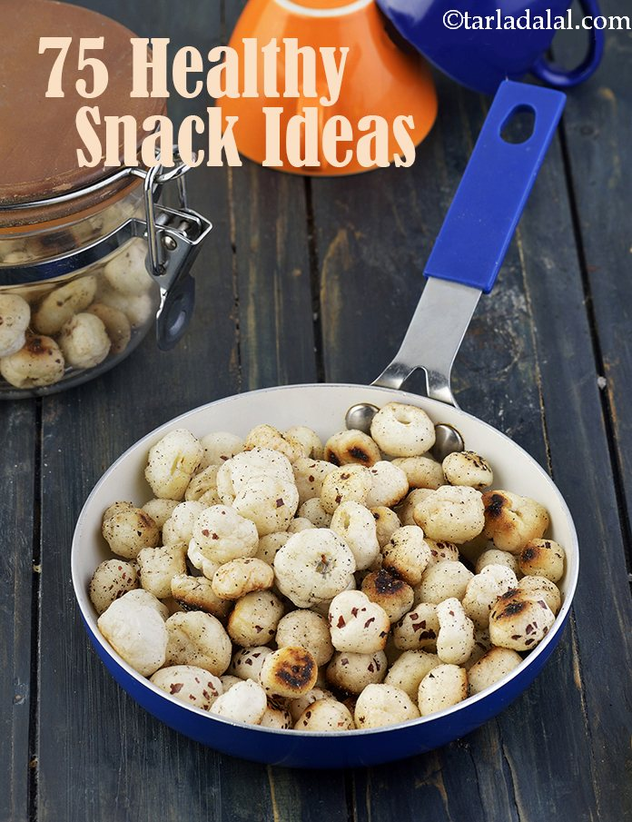 75 Healthy Quick Snack Ideas