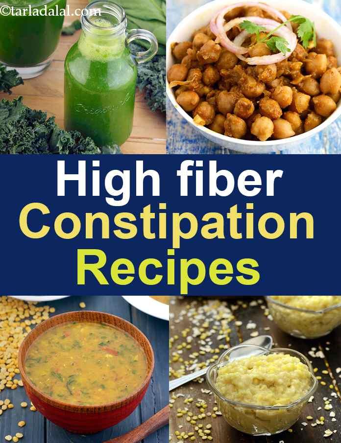 High Fibre Recipes To Relieve Constipation