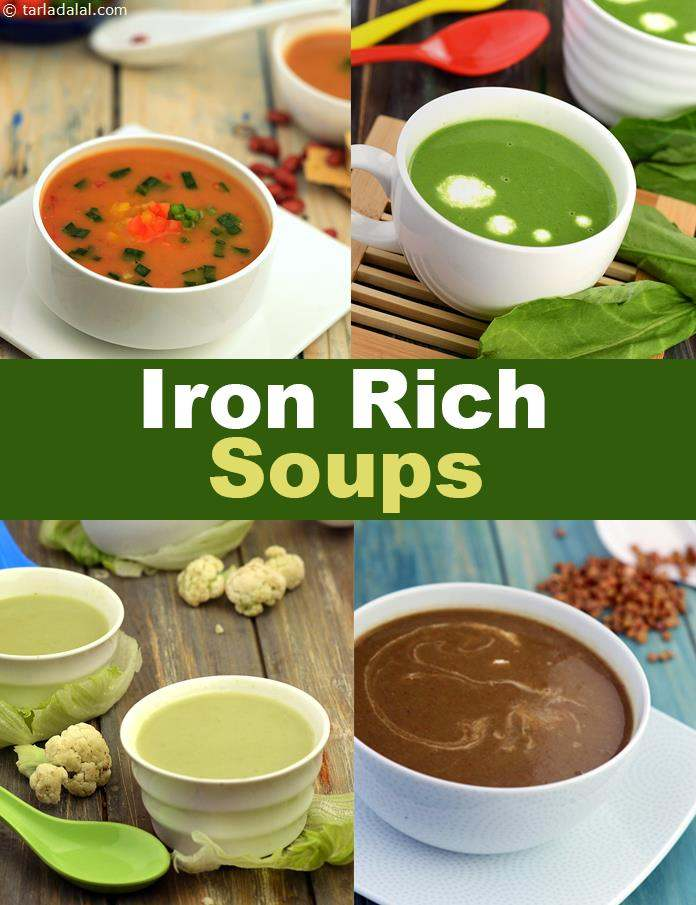picture regarding Printable List of Iron Rich Foods identified as Iron Abundant Soup Recipes, Substantial Iron Veg Soup Recipes