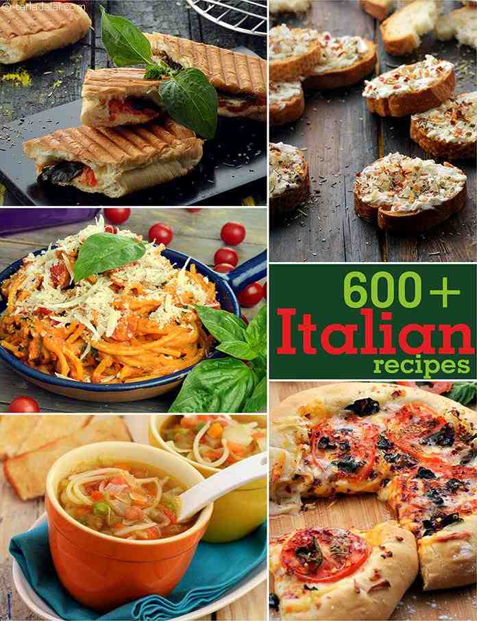 Italian recipes vegetarian italian recipes tarladalal page italian recipes forumfinder Image collections