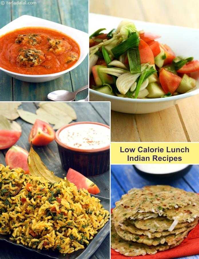 Low Calorie Indian Lunch Recipes Tarladalal Com