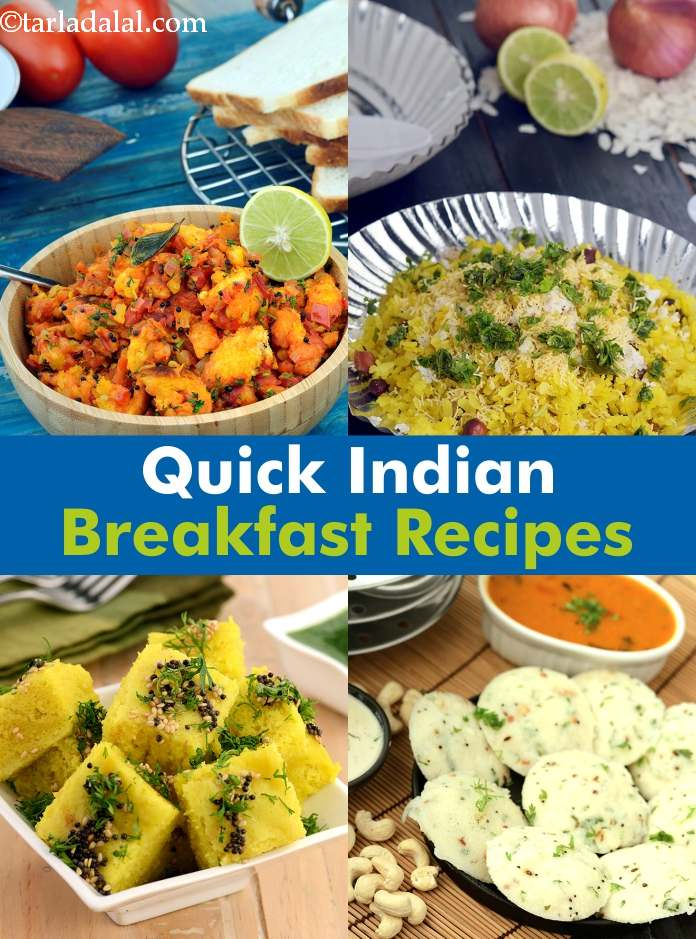 Quick Breakfast Indian Recipes - 132.3KB
