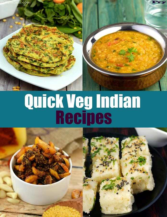 Quick Veg Recipes 2900 Quick Indian Recipes Jhat Pat Recipes