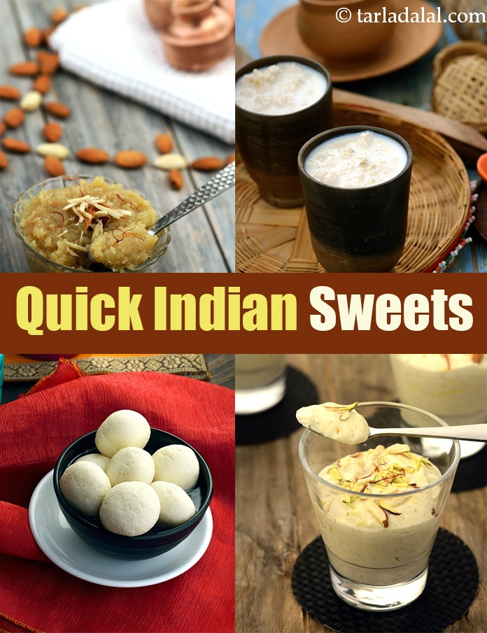 Quick Sweet Recipes 300 Quick Indian Sweet Recipes Mithai
