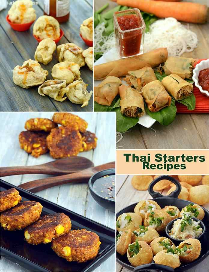19 Thai Starter Recipes Veg Thai Starters