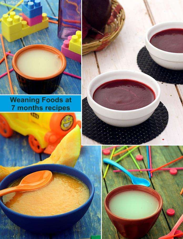 7 Months Baby Food Indian Weaning Recipes