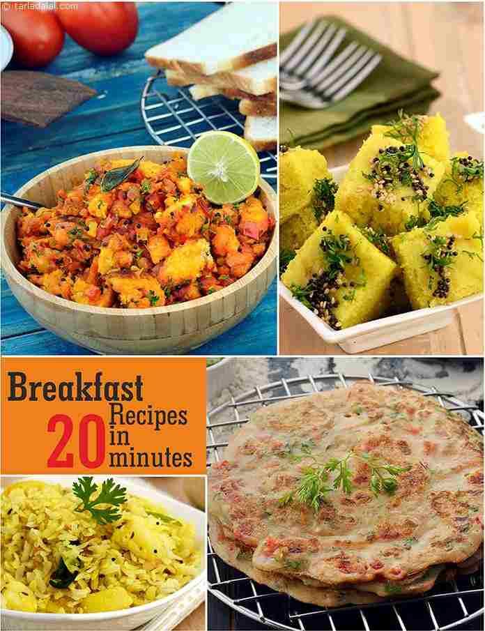 Breakfast Veg Recipes In 20 Minutes
