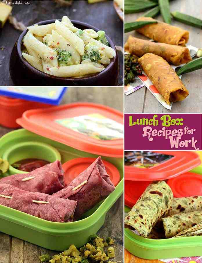 Veg Lunch Box Recipes For Adults And Kids