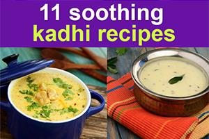 11 soothing kadhi recipes for your everyday meal