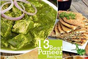 Best 13 Best Paneer Recipes