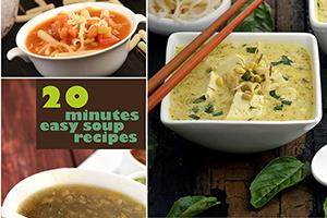 20 minutes easy soup recipes