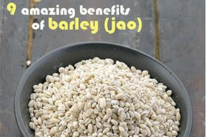 benefits of barley jao