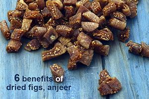 benefits of dried figs anjeer