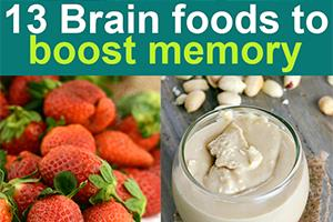 brain foods to boost memory and focus