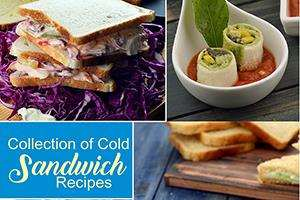 collection of cold sandwich recipes