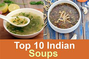collection of top 10 indian soup