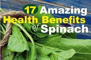 health benefits of palak spinach