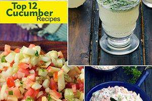 Top 12 Cucumber Recipes