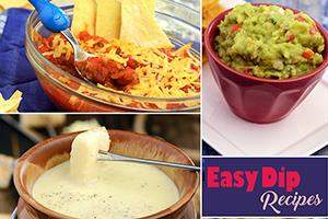 easy veg dip recipes