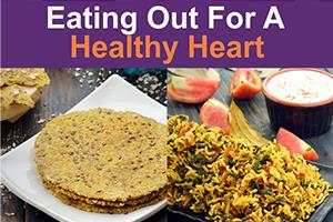 eating out for a healthy heart