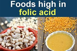 Foods High In Vitamin B9 Folate