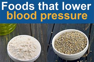 top foods that lower blood pressure