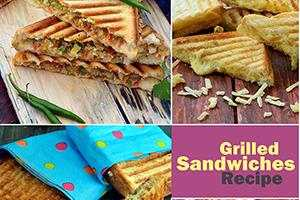 veg grilled sandwiches recipe collection
