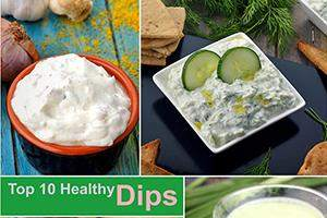 Top 10 Healthy Dips