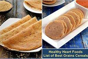 healthy heart foods, list of best grains cereals