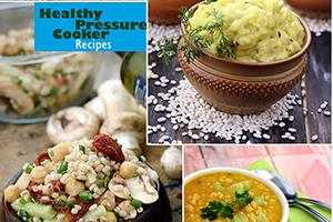 healthy pressure cooker veg recipes