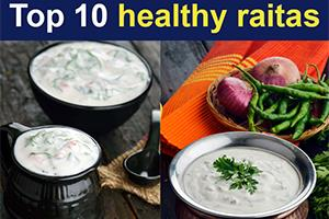 Top 10 Healthy Raitas, Indian Raitas