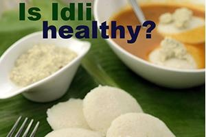 is idli healthy