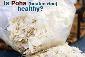 is poha healthy