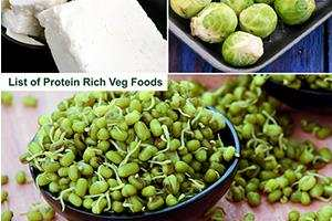 protein rich vegetarian indian foods