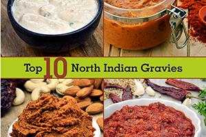 Top 10 North Indian Gravies, Veg Gravies