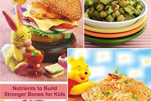 nutrients minerals to build stronger bones for kids