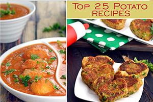 top 25 aloo recipes potato recipes