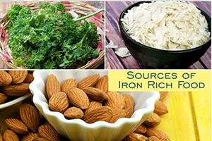 sources of iron rich food