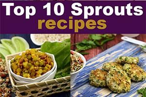 top 10 veg sprout recipes