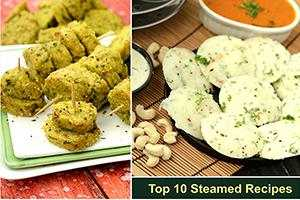 top 10 steamed recipes