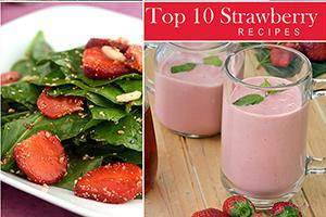 best 10 strawberry recipes eggless