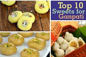 top 10 sweets for ganpati
