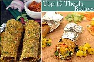 top 10 thepla recipes