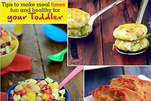 Tips To Make Meal Times Fun And Healthy For Your Toddler